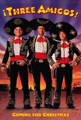 Three Amigos - 11 x 17 Movie Poster - Style B