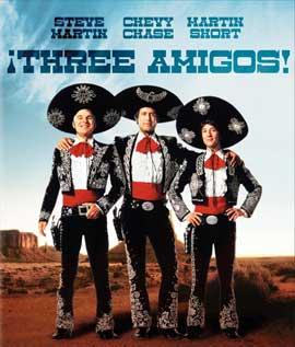 Three Amigos - 11 x 14 Movie Poster - Style A