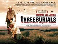 The Three Burials of Melquiades Estrada - 30 x 40 Movie Poster UK - Style B