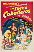 Three Caballeros, The - 27 x 40 Movie Poster - Style C