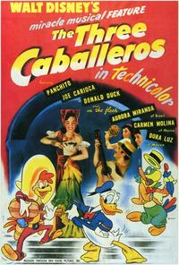 Three Caballeros, The - 27 x 40 Movie Poster - Style A