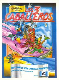 Three Caballeros, The - 27 x 40 Movie Poster - Spanish Style A