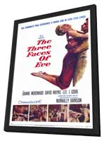 The Three Faces of Eve - 11 x 17 Movie Poster - Style A - in Deluxe Wood Frame