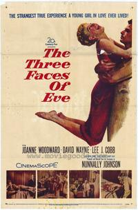 The Three Faces of Eve - 27 x 40 Movie Poster - Style A