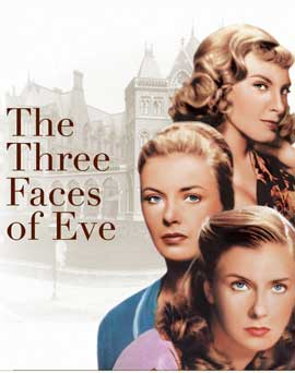 The Three Faces of Eve - 22 x 28 Movie Poster - Style A