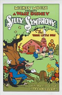 The Three Little Pigs - 27 x 40 Movie Poster - Style A