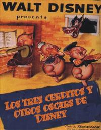 The Three Little Pigs - 11 x 17 Movie Poster - Spanish Style A