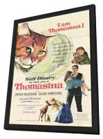 The Three Lives of Thomasina - 11 x 17 Movie Poster - Style A - in Deluxe Wood Frame
