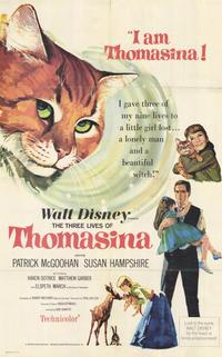 The Three Lives of Thomasina - 11 x 17 Movie Poster - Style A