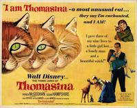 The Three Lives of Thomasina - 22 x 28 Movie Poster - Half Sheet Style A