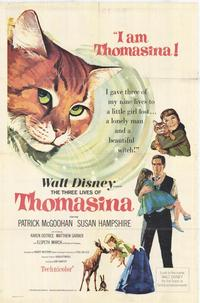 The Three Lives of Thomasina - 27 x 40 Movie Poster - Style A
