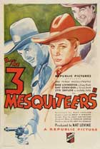 The Three Mesquiteers - 11 x 17 Movie Poster - Style A