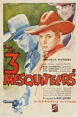 The Three Mesquiteers - 27 x 40 Movie Poster - Style A
