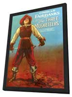 The Three Musketeers - 11 x 17 Movie Poster - Style A - in Deluxe Wood Frame