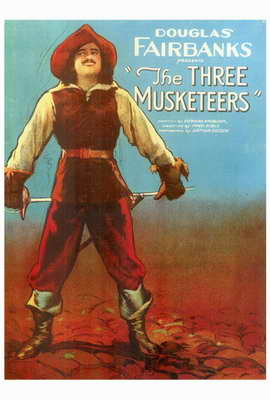 The Three Musketeers - 27 x 40 Movie Poster - Style A