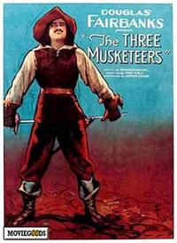 The Three Musketeers - 43 x 62 Movie Poster - Bus Shelter Style A