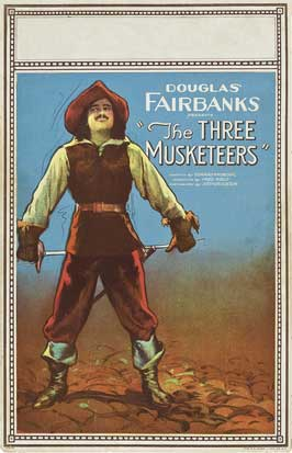 The Three Musketeers - 11 x 17 Movie Poster - Style B