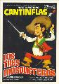 Three Musketeers, The - 27 x 40 Movie Poster - Spanish Style B