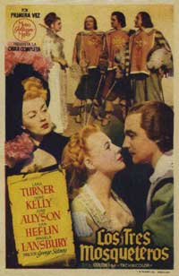 The Three Musketeers - 11 x 17 Movie Poster - Spanish Style B