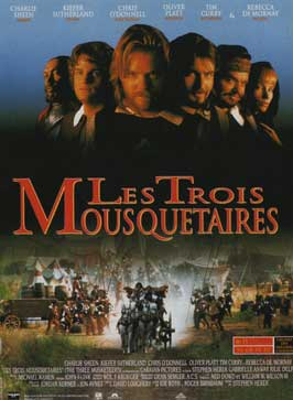The Three Musketeers - 11 x 17 Movie Poster - French Style C