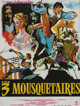 The Three Musketeers - 11 x 17 Movie Poster - French Style D