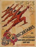 The Three Musketeers - 11 x 17 Movie Poster - French Style B