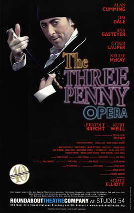 The Three Penny Opera (Broadway) - 11 x 17 Poster - Style A