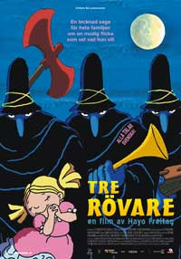 The Three Robbers - 11 x 17 Movie Poster - Swedish Style A