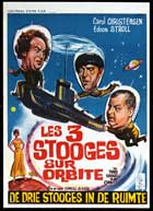 The Three Stooges in Orbit - 27 x 40 Movie Poster - Belgian Style A