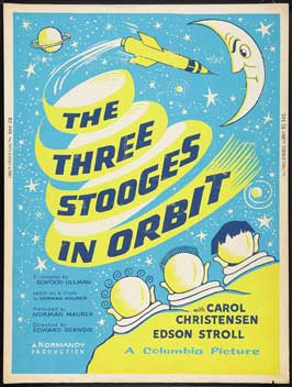 The Three Stooges in Orbit - 27 x 40 Movie Poster - Style A