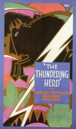 The Thundering Herd - 11 x 17 Movie Poster - Style A