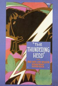 The Thundering Herd - 27 x 40 Movie Poster - Style A