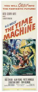 The Time Machine - 14 x 36 Movie Poster - Insert Style A