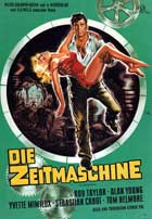 The Time Machine - 27 x 40 Movie Poster - German Style A