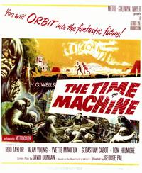 The Time Machine - 11 x 14 Movie Poster - Style A
