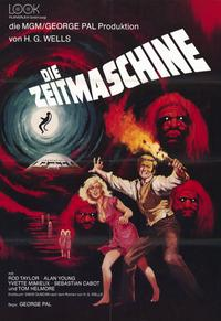 The Time Machine - 11 x 17 Movie Poster - German Style A