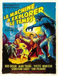 The Time Machine - 43 x 62 Movie Poster - French Style A