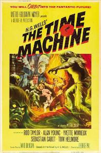 The Time Machine - 27 x 40 Movie Poster - French Style C