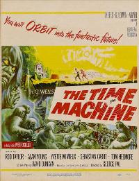 The Time Machine - 27 x 40 Movie Poster - Style F