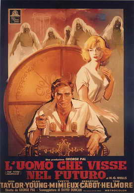 The Time Machine - 27 x 40 Movie Poster - Italian Style A