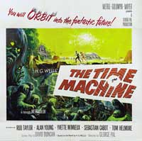 The Time Machine - 30 x 30 Movie Poster - Style A