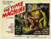 The Time Machine - 11 x 14 Movie Poster - Style B