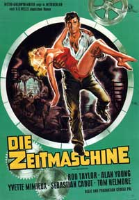 The Time Machine - 11 x 17 Movie Poster - German Style C