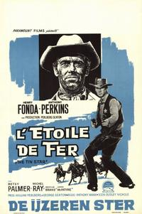 The Tin Star - 11 x 17 Movie Poster - Belgian Style A