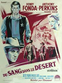 The Tin Star - 27 x 40 Movie Poster - French Style A