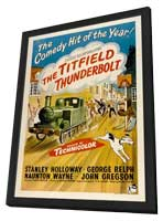 The Titfield Thunderbolt - 11 x 17 Movie Poster - UK Style A - in Deluxe Wood Frame