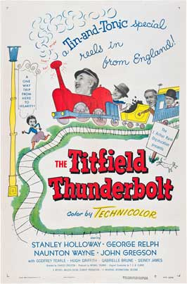 The Titfield Thunderbolt - 27 x 40 Movie Poster - Style C