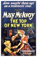 Top of New York, The - 11 x 17 Movie Poster - Style A