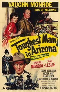 Toughest Man in Arizona - 11 x 17 Movie Poster - Style A