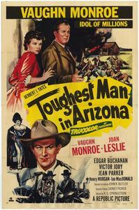 Toughest Man in Arizona - 27 x 40 Movie Poster - Style A